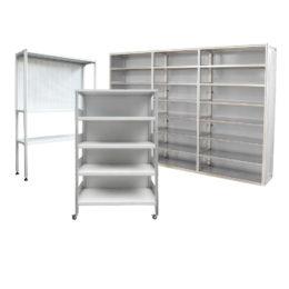 Системы хранения и складирования